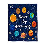 Where to Buy Emoji Bedding YEHO Art Gallery Flannel Fleece Bed Blanket Soft Throw-Blankets for Adult Kids Girls Boys,Cute Emoji Planet Blue Pattern,Lightweight Blankets for Bedroom Living Room Sofa Couch,39x49inch