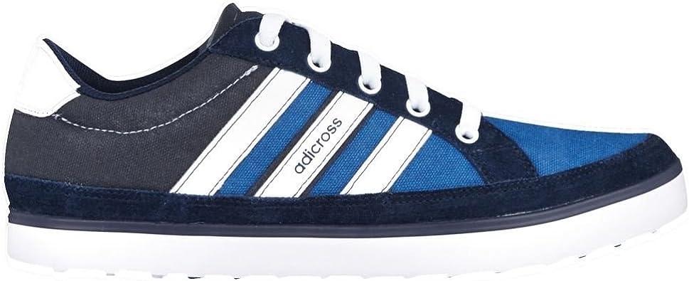 Adidas Adicross IV 2015 - Zapatos de golf para hombre, horma ancha, ligeros, impermeables, sin tacos, color, talla 46 EU HYD: Amazon.es: Deportes y aire libre