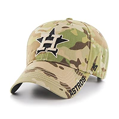 Camo Adjustable Houston Astros Myers MVP Hat