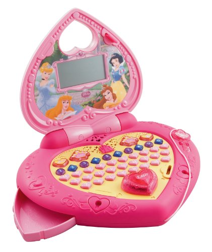 VTech Disney Princess Magical Learning Laptop - Princess Computer Keyboard