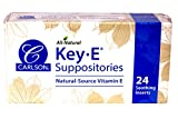 Carlson Key-E Suppositories for Women 24 ct