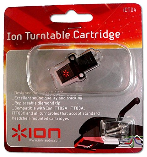 Ion iCT04 Turntable Cartridge Replacement with Stylus by Ion