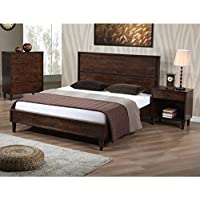 Vilas Queen-size Modern Wood Bed