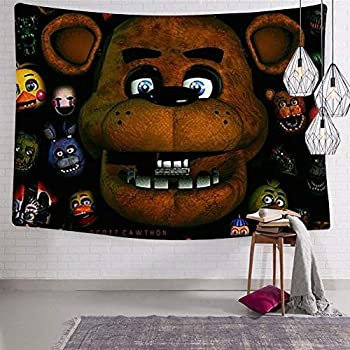 Amazon.com: HOOPNUA Five Nights at Freddys Tapestry Wall ...