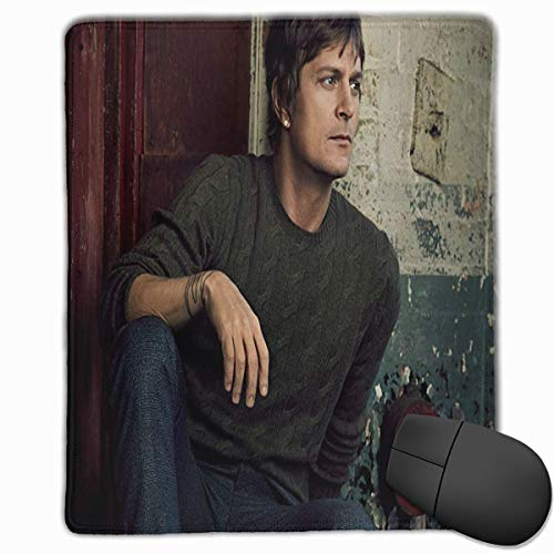 MGGPXXXI Rob Thomas Cool Mousepad Desktop Laptop Mouse Pad Waterproof Keyboard Pad Thick Extended Mat for Office/Home&Gamer