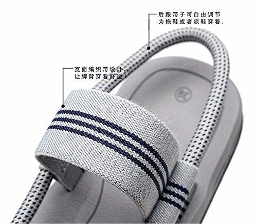 scarpe piscina sandali spesso estive punta spiaggia traspirante d pantofole antislittamento YMFIE cool semplice pizzico donna di Elegante fondo traino c8WvzO