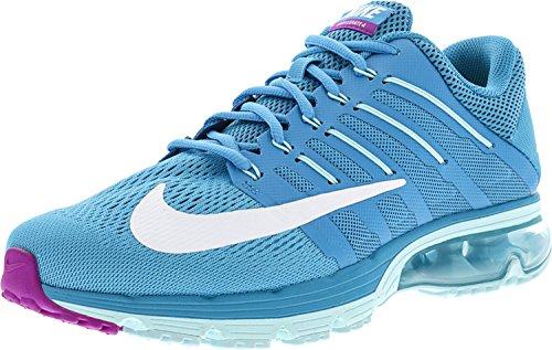 Nike Womens Air Max Excellerate 4 Scarpa Da Corsa Alla Caviglia Blu / Laguna / Bianca - Copa