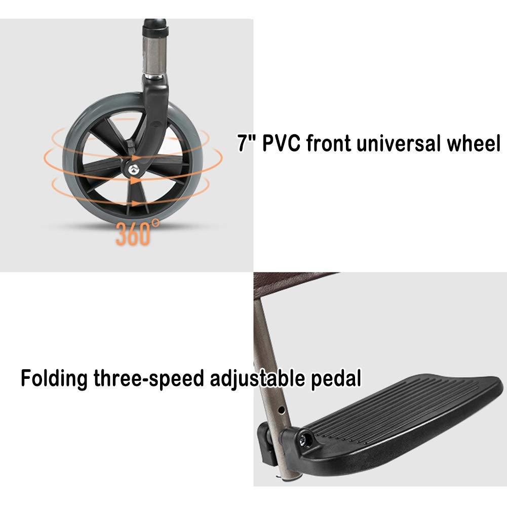 Wheelchair commode STBD-Silla de heces, Inodoro para Silla de ...