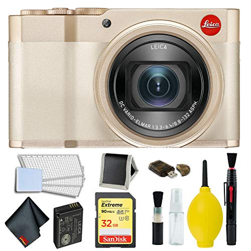 Leica C-Lux Digital Camera (Light Gold) Memory Kit (Leica C Lux 3)