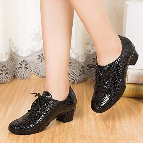 Minitoo - salón mujer Black-4cm Heel