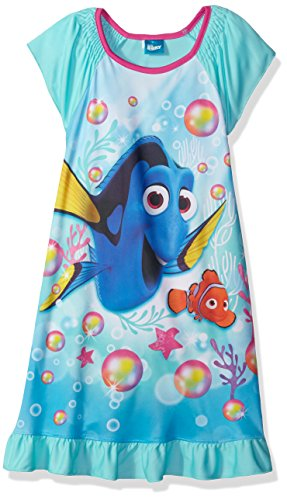 Finding Dory Nemo Girls Flannel Granny Gown Nightgown Pajamas (Little Kid Big  Kid) a44abf8ad