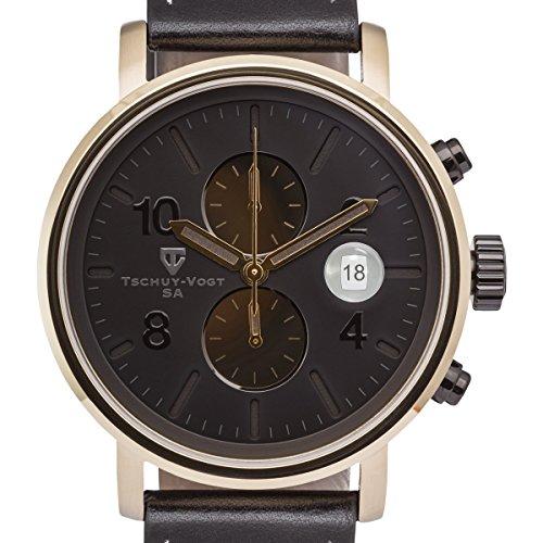 Tschuy-Vogt M60 Patton Mens Chronograph Watch