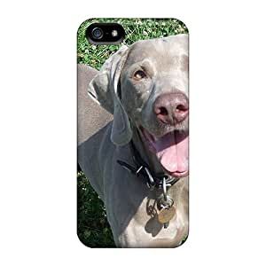 Hot Snap-on Happy Weim Hard Covers Cases/ Protective Cases For Iphone 5/5s