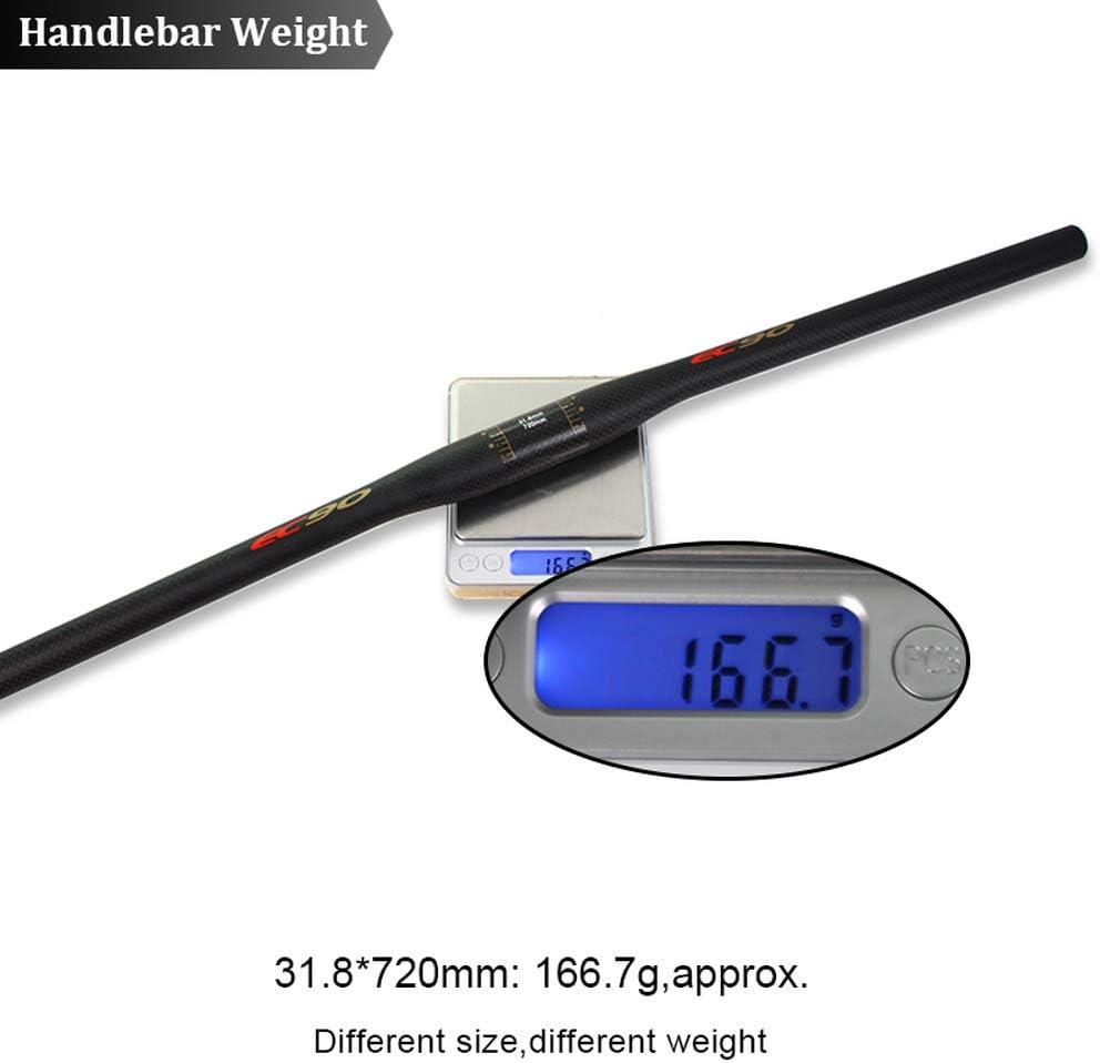 US EC90 3K Matt Handlebar Carbon Fiber 31.8//25.4mm Flat//Riser MTB Bicycle Bar