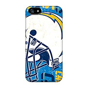 LeoSwiech Apple Iphone 5/5s Shock-Absorbing Hard Phone Case Provide Private Custom High Resolution San Diego Chargers Skin [rIJ4244YUdZ]