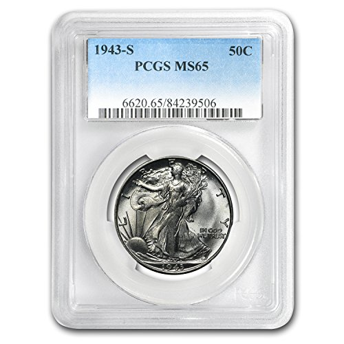 1943 S Walking Liberty Half Dollar MS-65 PCGS Half Dollar MS-65 PCGS