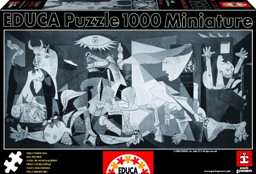 Educa Boras Guernica P. Picasso Miniature Puzzle (1000 Piece)