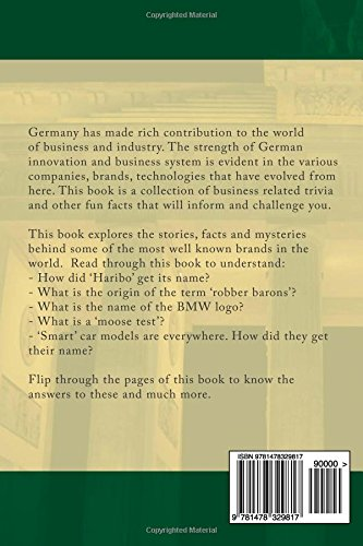 Buy Germany Business Trivia: Fun Facts and Trivia Related to German