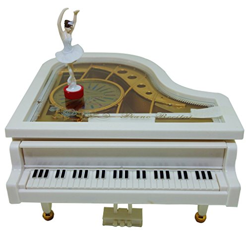 Muse Musical Mechanical Classical Music Box,Piano Music Box, Dancing Music Box,Rocking Music Box (Dancing Girl)