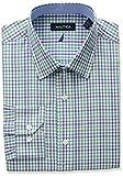 Nautica Mens Regular Fit Plaid Dress Shirt