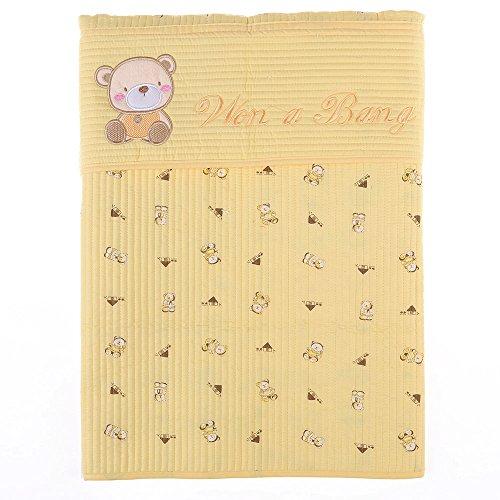 wonabang Quilted Luxury Capri Podaegi Korean Style Baby Carrier Sling Toddler 61 x 27.2 Yellow