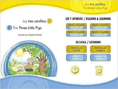 Descarga gratuita de libros electrónicos sin membresía APP-IPAD Los tres cerditos / The three little pigs (Cuentos de siempre bilingües) 8444147605 PDF RTF DJVU