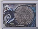 2014 Topps Kendall Wright Titans coin and card NFLJC-KW NM (Near Mint)