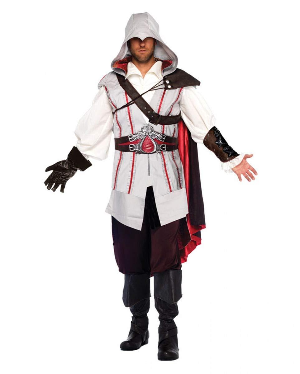 Disfraz deluxe Ezio Auditore de Assassins Creed II de Ubisoft ...