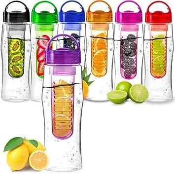 Vinsani Obst-Wasser-Flasche, für Wasser-Obst-Mischgetränke ...