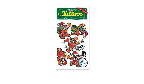 Lutz Mauder Lutz Mauder4471 - Tatuaje de Papá Noel (Talla única ...