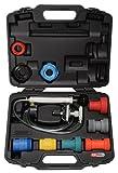 SK Hand Tool KS Tools Universal Cooling System Diagnostic Service Set, 12 pcs Clear