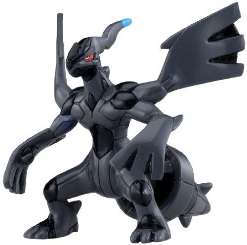 """Takara Tomy Pokemon Monster Collection Mini Figure - 1.5"""" Zekrom (M-010) (Japanese Import)"""
