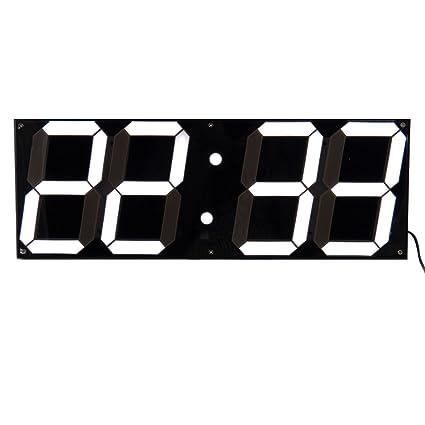 2016 Inicio de la decoración 3D del reloj digital LED de gran tamaño Escritorio moderno reloj