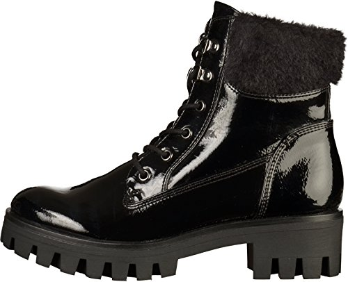 Tamaris Women's 26714 Combat Boots Black H9EIgTptMH
