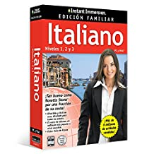 Instant Immersion: Italiano Edición Familiar Niveles 1,2 y 3