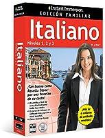 Instant Immersion: Italiano Edición Familiar Niveles 1,2 y 3