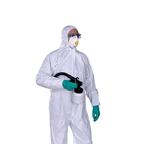 GAIXIA Ropa De Protección Química Siamesa, Ropa De ...