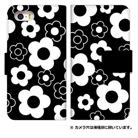 d2a5c4a9e4 スマホケース 手帳型 iPhone 8 ケース 手帳 かわいい 花柄 デザイン おしゃれ ポップ 0019-A