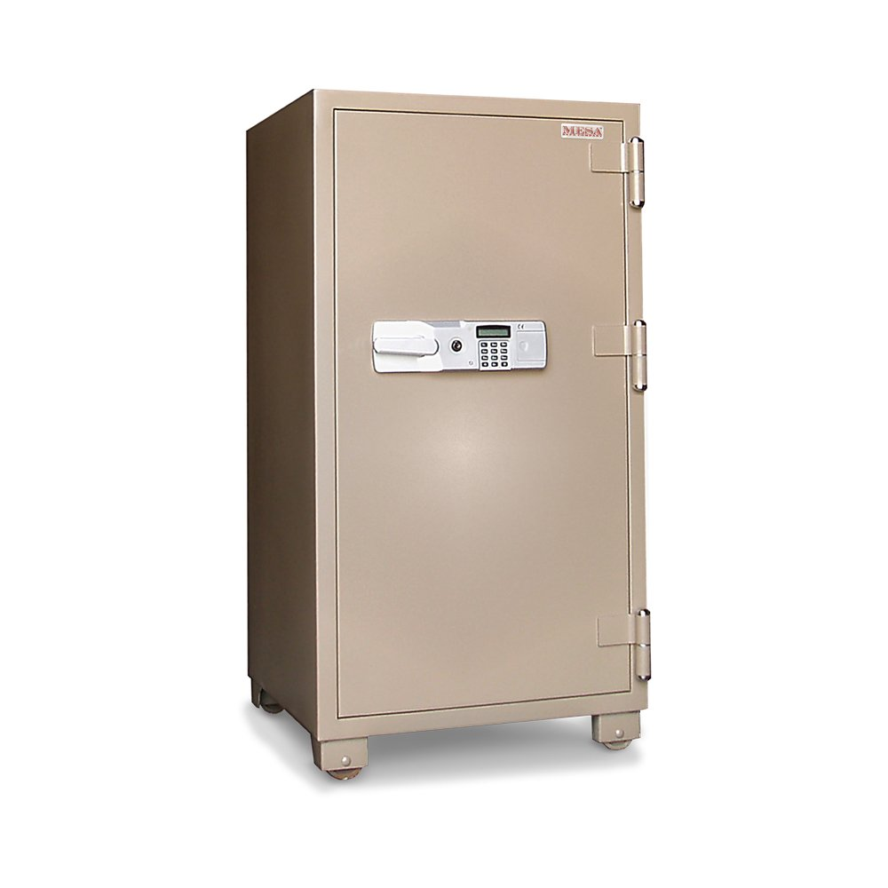 Mesa Safe MFS120E 2 Hour Fire Rated Office Safe, Steel, 6.8 cubic feet Interior Space by Mesa Safe