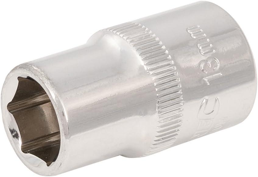 Silverline 941024 13 mm 1//2 Inch Drive Metric Hex Socket