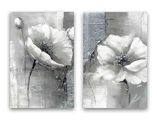 Yimei Art Modern Canvas Abstract Flowers Painting Wall Art for Home Decoration Canvas Prints Giclee Artwork for Wall Decor