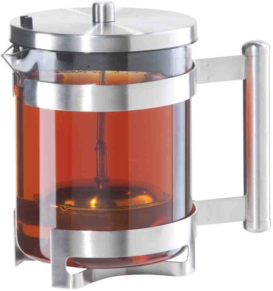 Oggi Fusion Teapot with Built in Stainless Tea Infuser, 40-Ounce