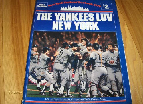 (1979 New York Yankees Official Yearbook Magazine )