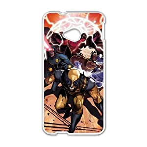 HTC One M7 Cell Phone Case White X Men 002 Basic Cell Phone Carrying Cases LV_6060820