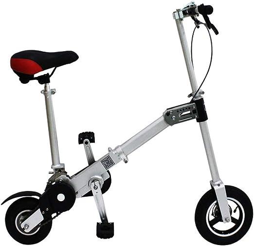 NENGGE Mini Bicicleta Plegable, Adultos Unisex Compacto 1 ...