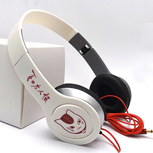 foldable-stereo-headset-anime-natsume-yuujinchou-nyanko-big-headphones