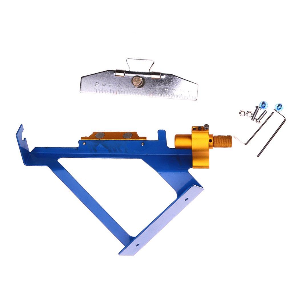 Magideal Stick Strumento di Freccia Fletching Jig Fai Da te Accessori da Tiro con l'arco, in Acciaio Inossidabile - #1