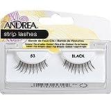 Andrea False Eyelashes Strip Lash Style 53, Black