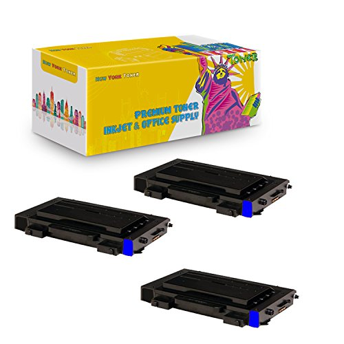 New York TonerTM New Compatible 3 Pack CLP-510D5C High Yield Toner For Samsung - CLP-510N | CLP-510NG . -- Cyan ()