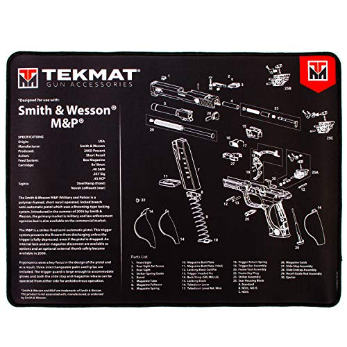 TekMat Ultra Gun Cleaning Mat for use with S&W M&P
